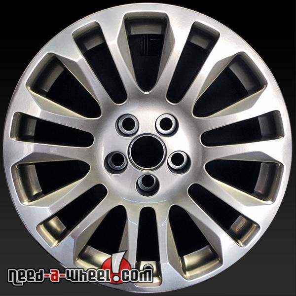 "18"" Cadillac CTS Wheels For Sale 11-14 Hypersilver Rims 4673"
