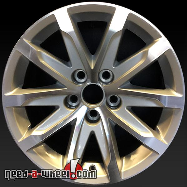 "2014 Cars Cadillac Cts Use: 17"" Cadillac CTS Wheels Oem 2014-2016 Silver Stock Rims 4713"