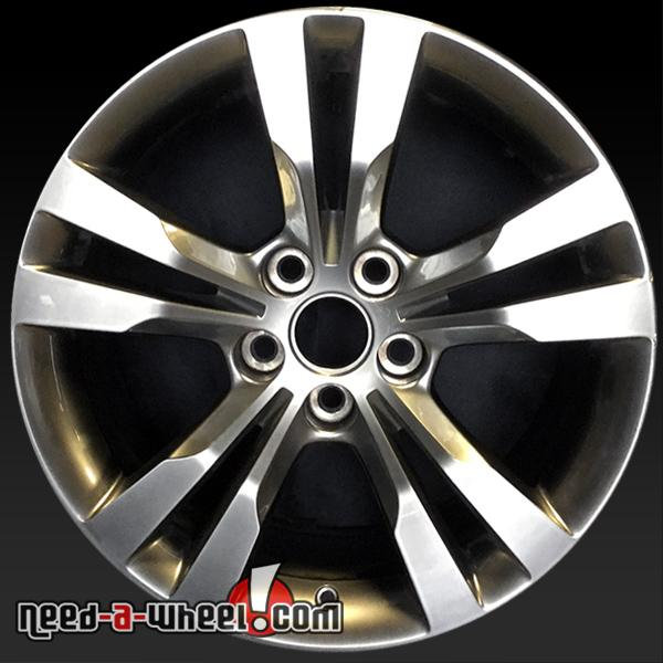 "18"" Cadillac CTS Wheels Oem 2014-16 Machined Factory Stock"