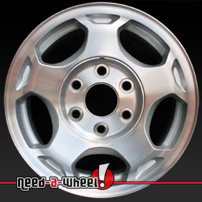 2003 2007 Chevy Silverado Wheels For Sale Machined Stock Rims 5154