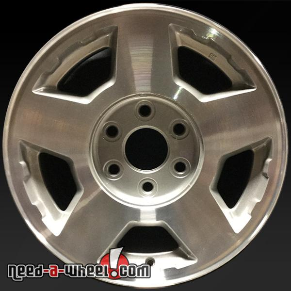 Chevy Truck Wheels >> 17 Chevy Truck Wheels Oem 2004 2007 Machined Stock Rims 5196