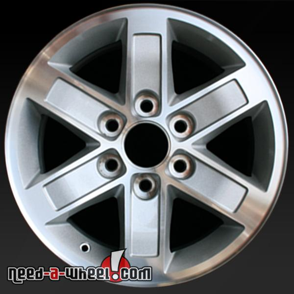 17 Quot Gmc Sierra Denali Wheels Oem 2007 2013 Machined Rims 5296