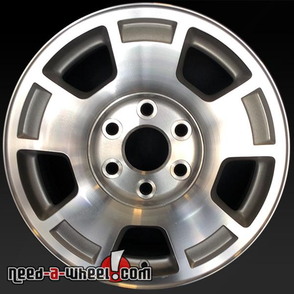 Chevy Truck Wheels >> 17 Chevy Truck Wheels Oem 2007 2014 Machined Rims 5299