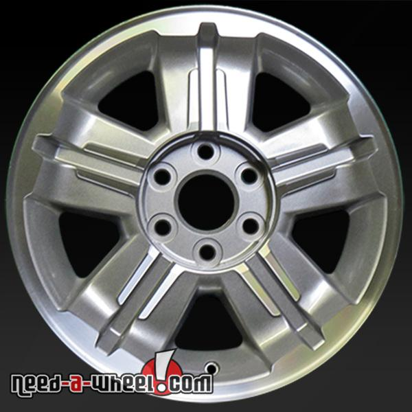 2007 Chevy Silverado Wheels For Sale 18 Machined Stock Rims 5300