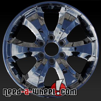 gmc acadia denali chrome tires factory wheels set rims of oem pvd