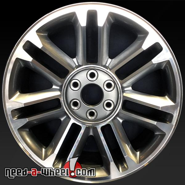 22 cadillac escalade wheels oem 2007 2014 machined rims 5358. Black Bedroom Furniture Sets. Home Design Ideas