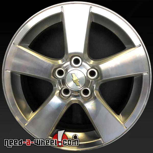 16 chevy cruze oem wheels 2011 14 machined factory stock rims 5473. Black Bedroom Furniture Sets. Home Design Ideas