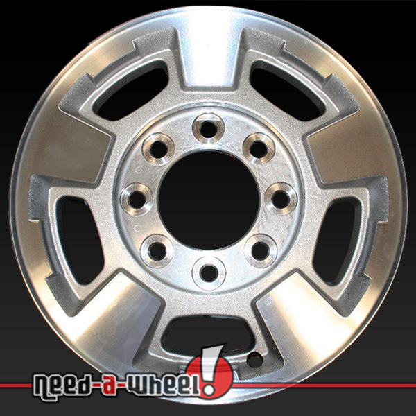 17 chevy silverado wheels oem 11 14 machined rims 5500. Black Bedroom Furniture Sets. Home Design Ideas
