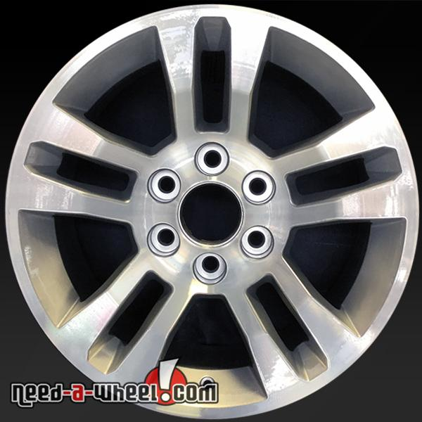 Chevy Truck Wheels >> 18 Chevy Truck Wheels Oem 2014 2016 Machined Stock Rims 5646