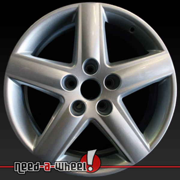 "17"" Audi A4 Wheels Oem 2002-2011 Silver Rims 58749"