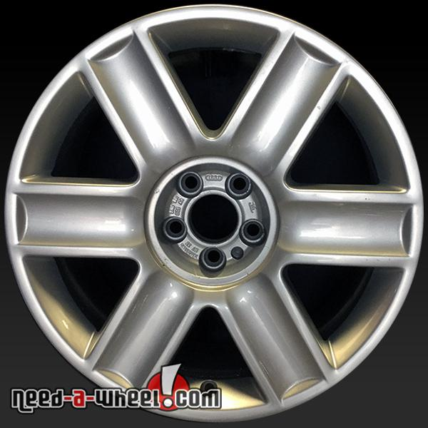 """17"""" Audi TT Wheels Oem 2003-2006 Silver Factory Alloy"""
