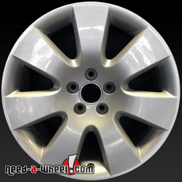 18 Audi A6 Wheels Oem 2005 2010 Silver Alloy Stock Rims 58781