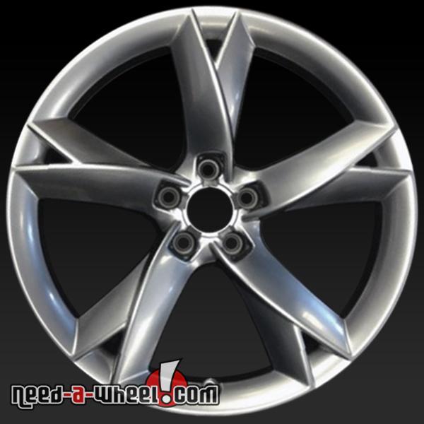"19"" Audi S5 Wheels Oem 2008-2014 Silver Rims 58827"