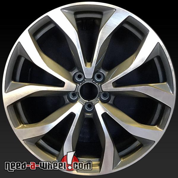 "20"" Audi A6 Oem Wheels 2012-2015 Machined Stock Rims 58897"