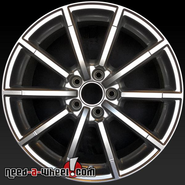 "18"" Audi A4 Wheels Oem 2015-2016 Silver Stock Rims 58956"