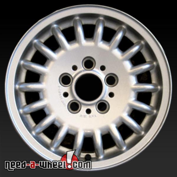 """15"""" BMW 318i Wheels Oem 1993-1999 Silver Rims 59183"""