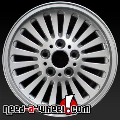 16 Quot Bmw 540i Wheels Oem 1997 2003 Silver Rims 59253