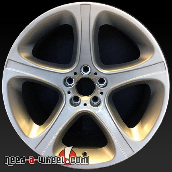 """20"""" BMW X5 Wheels Oem 2001-2006 Rear Silver Factory Stock"""