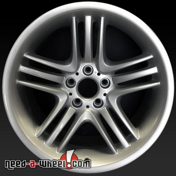 19 Bmw 7 Series Wheels Oem 02 08 Rear Silver Factory Stock Rims 59400