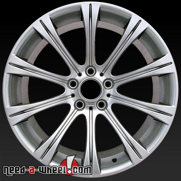 19x9 5 bmw m5 wheels oem 2006 10 hypersilver rims 59547. Black Bedroom Furniture Sets. Home Design Ideas