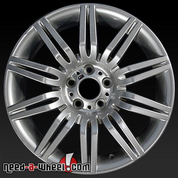 "19"" BMW 535i Wheels Oem 2008-2010 Hypersilver Rims 59555"