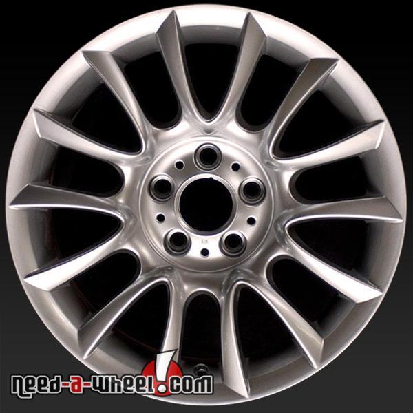 "18x8.5"" BMW 3 Series Wheels Oem 2006-13 Silver Rims 59577"