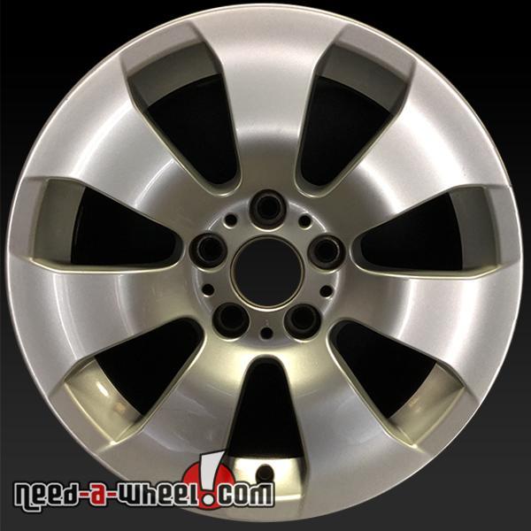 "17"" BMW 3 Series Wheels Oem 2006-2013 Silver Rims 59581"