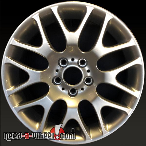 """18x8"""" BMW 328i Wheels Oem 2007-2013 Silver Rims 59615"""