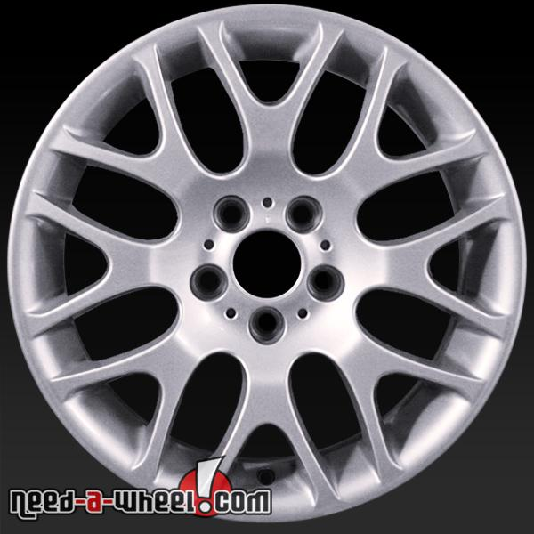 "18"" BMW 3 Series Wheels Oem 2006-2013 Silver Rims 59621"