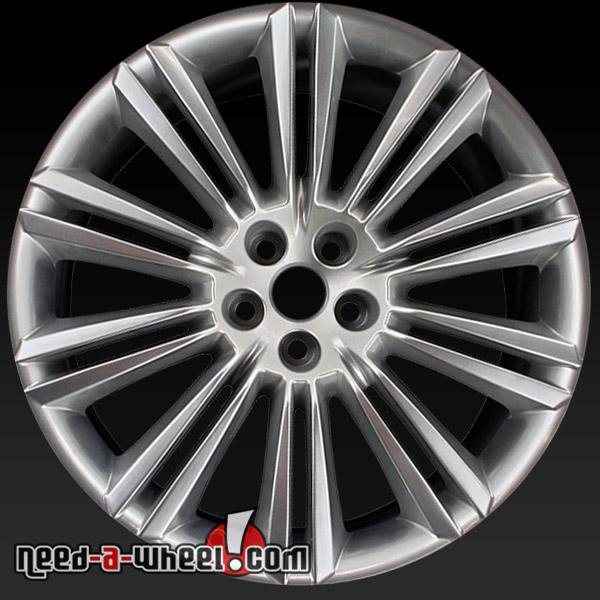 "Jaguar Xfr 2010 For Sale: 20"" Jaguar Wheels Oem 10-15 Rear Hypersilver ""Kasuga"" Rims"
