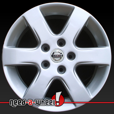 2002 2004 nissan altima wheels silver rims 62396