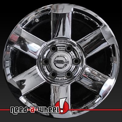 2004 2008 nissan armada wheels chrome rims 62439. Black Bedroom Furniture Sets. Home Design Ideas