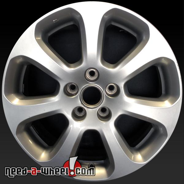 17 nissan maxima wheels oem 2007 2008 silver stock rims 62474. Black Bedroom Furniture Sets. Home Design Ideas
