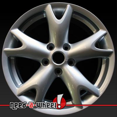 2008 2013 Nissan Rogue wheels Silver rims