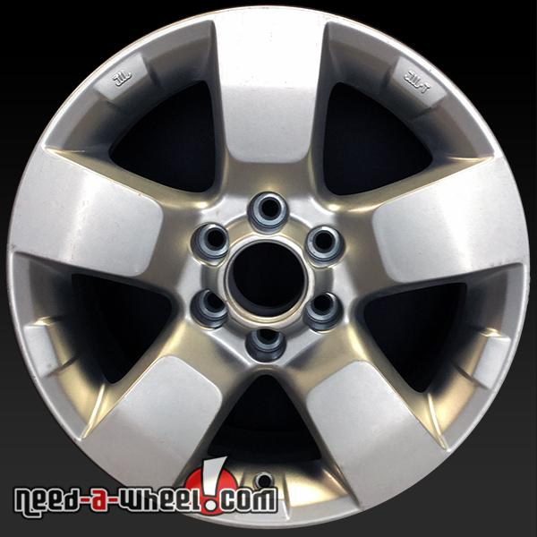 16 Quot Nissan Wheels Oem 09 14 Frontier Xterra Silver Rims 62510