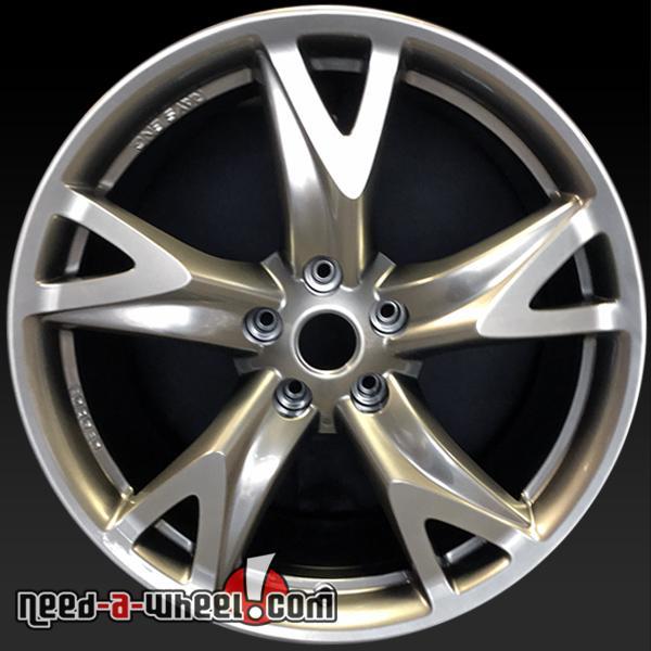 19 nissan 370z wheels oem 09 12 front hyperslvr stock. Black Bedroom Furniture Sets. Home Design Ideas