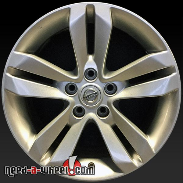 40 Nissan Altima Oem Wheels 4040 Silver Factory Stock Rims 40 Stunning Nissan Altima Bolt Pattern