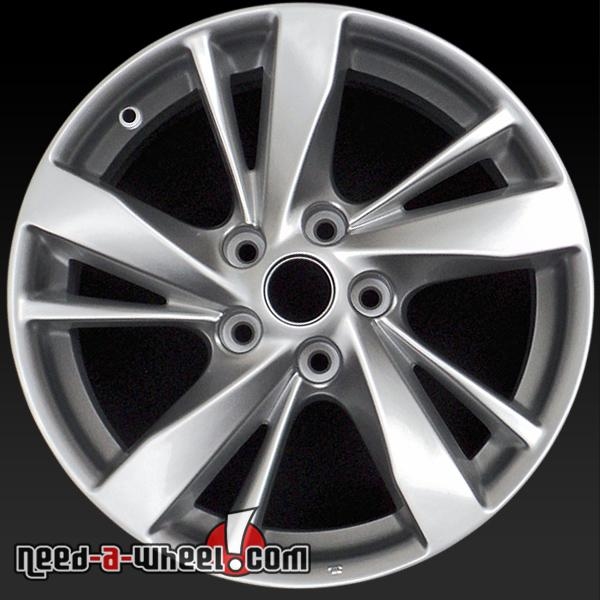 17 nissan altima wheels oem 2013 2014 silver rims 62593. Black Bedroom Furniture Sets. Home Design Ideas