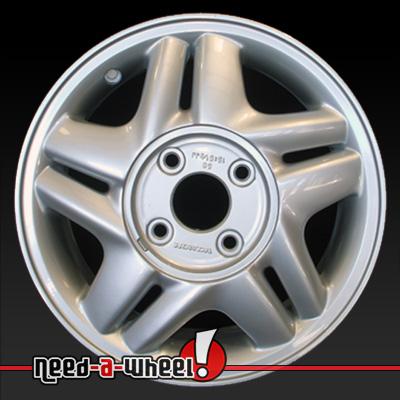 1996 1997 honda accord wheels silver rims 63752 for Honda crv lug pattern
