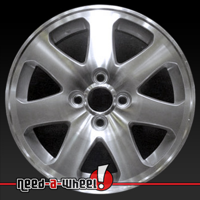 1999 2005 Honda Civic Wheels Machined Silver. Stock Rims 63793
