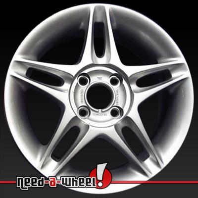 1999 2000 Honda Civic Wheels Sparkle Silver. Stock Rims 63795