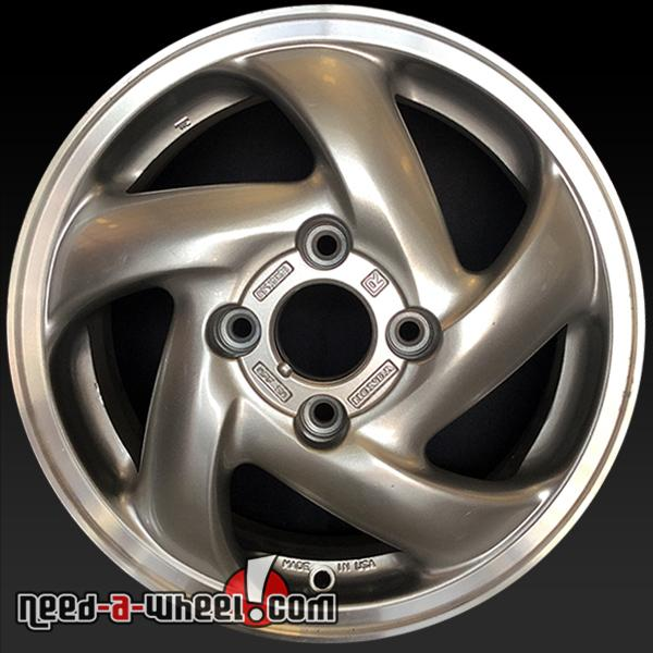 15 honda accord wheels oem 1994 1997 silver rims 63803. Black Bedroom Furniture Sets. Home Design Ideas