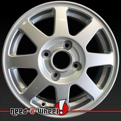 2002 Honda Accord Wheels For Sale Silver Rims 63840