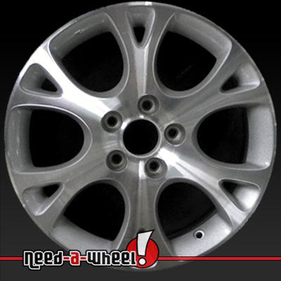 2003 2007 honda accord wheels machined silver rims 63864 for Honda crv lug pattern