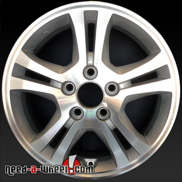 16 honda accord wheels oem 2006 07 machined rims 63907. Black Bedroom Furniture Sets. Home Design Ideas