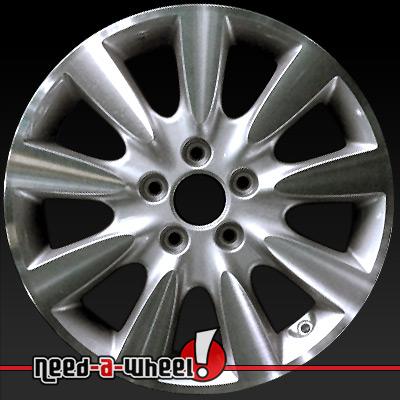 2006 2007 honda accord wheels machined silver rims 63919 for Honda crv lug pattern