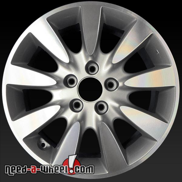 17 honda accord wheels oem 06 07 machined rims 63919. Black Bedroom Furniture Sets. Home Design Ideas