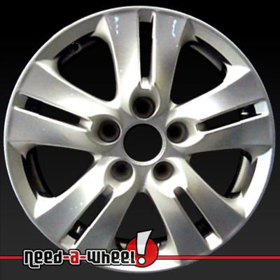 16 honda accord wheels oem 2008 2012 silver rims 63935. Black Bedroom Furniture Sets. Home Design Ideas