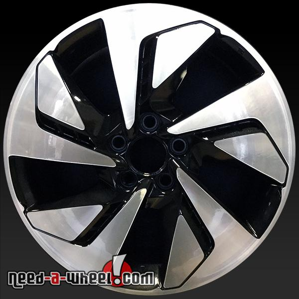 18 honda cr v wheels oem 2015 2016 machined factory rims. Black Bedroom Furniture Sets. Home Design Ideas