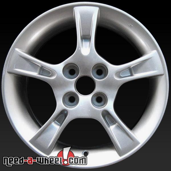 """2003 2008 Mazda 6 Wheels For Sale: 15"""" Mazda Protege Wheels Oem 2002-2003 Silver Rims 64851"""